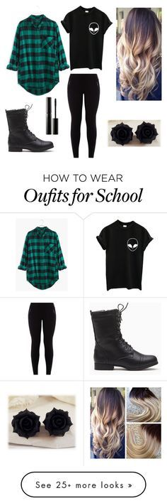 """To School Outfit"" by mystics10 on Polyvore featuring Madewell and Surratt"