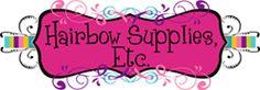 Fold over elastic, shabby rose trim, shabby flowers, rhinestone buttons, alligator clips, grosgrain ribbon, lace elastic, glitter elastic, felt circles, chiffon