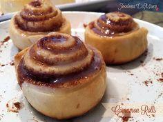 Mamás Latinas en USA // Cocinar,comer y compartir: Cinnamon Rolls