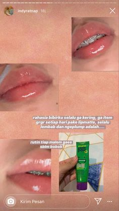 Face Skin Care, Diy Skin Care, Lip Care, Body Care, Facial Care, Skin Care Home Remedies, Skin Care Routine Steps, Healthy Skin Care, Skin Makeup