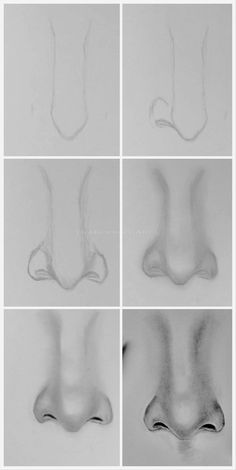 Stunning step- by- step nose drawing tutorial Pencil Art Drawings, Art Drawings Sketches, Sketch Art, Easy Drawings, Easy Realistic Drawings, How To Sketch, Sketch Nose, Drawing Lessons, Drawing Techniques