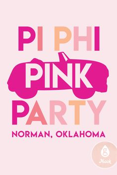 Geneologie | Pi Beta Phi | Pi Phi | Grease | Pink Party Greek Week, Pi Beta Phi, Pink Parties, Grease, Sorority, Party, Etsy, Fiesta Party, Parties
