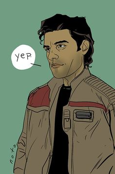 Star Wars: Episode VII - The Force Awakens - Poe Dameron by Phil Noto *
