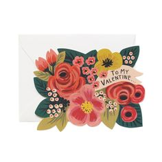 To My Valentine Card by Rifle Paper Co.