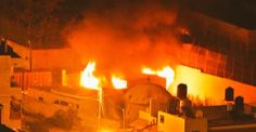 Jóvenes palestinos prenden fuego la tumba del Patriarca José