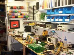 Whats your Work-Bench/lab look like? Post some pictures of your Lab. - Page 1
