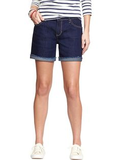 "Women's The Sweetheart Denim Shorts (5"") Product Image"
