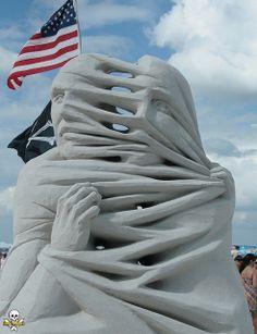 Sand Sculpting: Carl-Jara-2011WorldChampionships