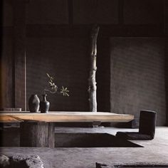 Originally for the Japanese aesthetic wabi-sabi. Explore tags: what is wabi-sabi? Wabi Sabi, Elle Decor, Interior Exterior, Interior Architecture, Room Interior, Japanese Architecture, Futuristic Architecture, Design Hotel, House Design