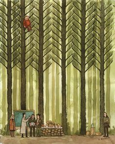 In the Trees: TWIN PEAKS 20th Anniversary Art Exhibition: We've got good news.