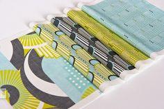 Art Deco Rio De Janeiro Fabric Samples by zesti, via Flickr