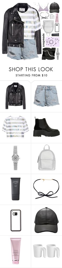 """""""for all i hear are echoes"""" by adal1ne ❤ liked on Polyvore featuring Acne Studios, Jonathan Saunders, Jeffrey Campbell, New Look, Neutrogena and ROOM COPENHAGEN"""