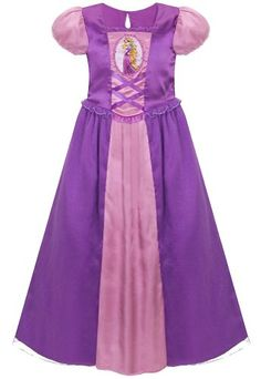 Rapunzel Nightgown for Girls - XS - Size 4 Baby Dolls For Kids, Baby Girl Toys, Disney Princess Toys, Disney Princess Dresses, Rapunzel, Girls Dresses, Summer Dresses, Birthday Dresses, Cinderella Costume