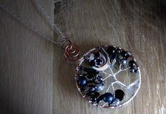 Black Moon Necklace Pendant, By Simple Creations By Sam!