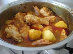 Portuguese Chicken and Potatoes