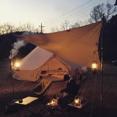 camping Adventure Gear, Adventure Awaits, Outdoor Life, Outdoor Camping, Tent Awning, Bell Tent, Sleeping Under The Stars, Luxury Camping, Closer To Nature