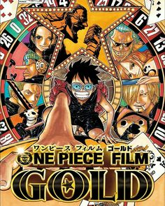 One Piece Film Gold http://MovieDeputy.com #onepiece #onepiecefilmgold #gold