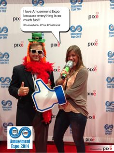 I love Amusement Expo because everything is so much fun!!! @liveoakbank, #Pixe #PixeSocial