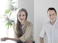 Kekkilä Koti & Piha -suunnittelijat, Linda Bergroth & Klaus Aalto.