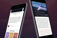 Megap - iOS 9 App Template - Websites