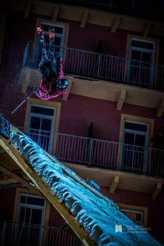 Red Bull Play street Bad gastein Austria by mine creative #badgastein #austria #redbull #skiing #playstreet Red Bull, Bad Gastein, Skiers, Play S, Boarders, Austria, Creative, Skate, Surfing