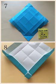 Creativa Origami kamikey: con miras patrón de mosaico de plegado, flores
