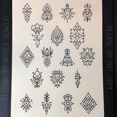 Tattoos - Tattoooo❤️ - Tattoo Designs For Women Mini Tattoos, Little Tattoos, Small Tattoos, Henna Tattoo Designs, Tattoo Designs For Women, Finger Tattoos, Body Art Tattoos, Tattoo Sketches, Tattoo Drawings