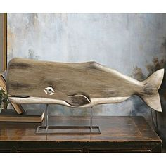 """We've named our large 29 inch long carved mango wood Whale Statue """"Mocha"""", after the famous (infamous? Barn Wood Crafts, Barn Wood Projects, Fine Woodworking, Woodworking Crafts, Popular Woodworking, Arte Steampunk, Whale Decor, Whale Art, Sea Whale"""