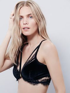 dca1490b243 SKIVVIES by For Love   Lemons Marseille Bralette at Free People Clothing  Boutique Glamour