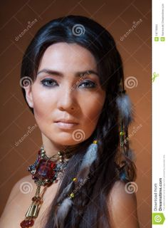 Viewing Gallery For - Native American Women Makeup