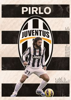 Andrea Pirlo of Juventus wallpaper. Football Icon, Best Football Team, Football Soccer, Italian Soccer Team, Arsenal, Juventus Wallpapers, Andrea Pirlo, Soccer Poster, Juventus Fc