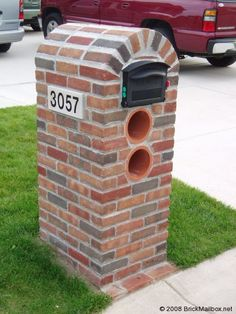 Brick Mailbox   How to Build a Brick Mailbox in pictures   BrickMailbox.net
