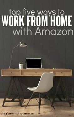 There are so many ways to earn an living online. If you want to get started with a reputable company here are the top five ways to work at home with Amazon. http://singlemomsincome.com/top-5-ways-to-work-at-home-with-amazon/ ways for students to make extra money, make money #college #studentdebt