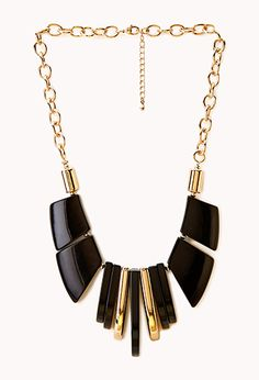 Posh Chunky Bib Necklace | FOREVER21 - 1000126305