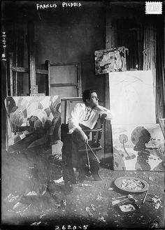 Francis Picabia, beautiful portrait of him