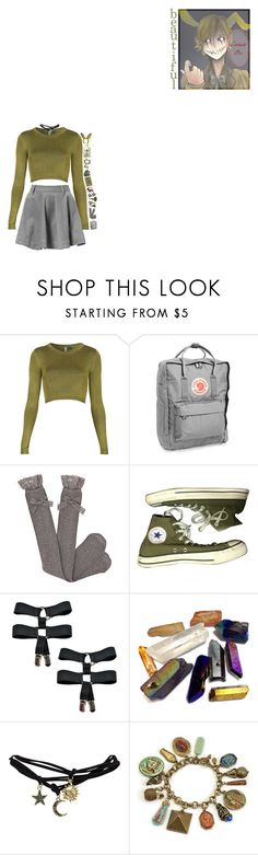 """""""- I can feel your heart beating under my skin"""" by out-in-the-twilight ❤ liked on Polyvore featuring Topshop, Fjällräven, Dotti, Converse, Wet Seal and Sweet Romance"""