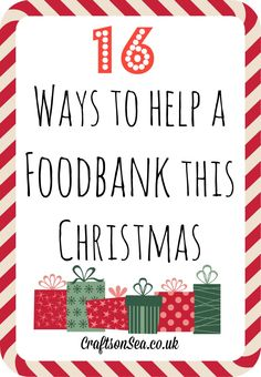 Want to help out this Christmas? I spoke to the manager of one of the busiest foodbanks in the country to see what they need (aka my husband!)