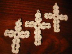 Crocheted crosses