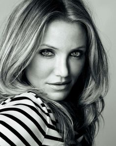 Cameron Diaz.  She is so strong and feisty. an inspiration.
