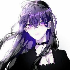 Dark Anime Girl, Manga Girl, Cool Anime Girl, Pretty Anime Girl, Beautiful Anime Girl, Kawaii Anime Girl, Anime Art Girl, Manhwa Manga, Manga Anime