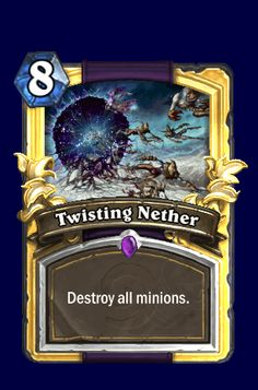 Nice animations and effects for showcasing and presenting cards in Hearthstone: Heroes of Warcraft