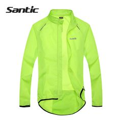 Cheap cycling jacket, Buy Quality men cycling jackets directly from China rain jacket Suppliers: Santic Men Cycling Jacket MTB Bicycle Bike Rain Jacket Raincoat Long Sleeve Outdoor Sport Windproof Cycle Clothing 2017 Cycling Shorts, Cycling Outfit, Cycling Clothing, Men's Cycling, Sport Clothing, Cycling Wear, Jersey Outfit, Green Jacket, Sports