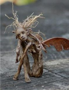~ OOAK (one of a kind) figurative art dolls by Candice Cinque. Sculpture in the form of realism, fantasy, faerie, fairy, and cultural themes. 3d Fantasy, Wow Art, Fairy Art, Fairy Dolls, Magical Creatures, Fairy Houses, Garden Art, Garden Ideas, Troll