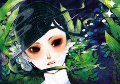 Florilège: KAZUKO TANIGUCHI - ILLUSTRATEUR - JAPON