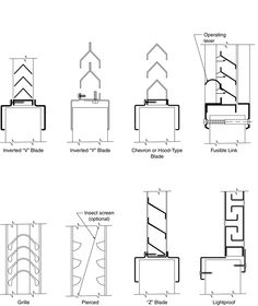Read the steel door and frame industry's considered views on a number of steel door details normally encountered in building plans and specifications. Window Detail, Door Detail, Steel Frame Doors, Furniture Layout, Building Plans, Bar Chart, Floor Plans, How To Plan, Architecture Plan