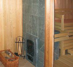 Portable Steam Sauna - We Answer All Your Questions! Spa, Portable Steam Sauna, Light Paint Colors, Basement Layout, Basement Walls, Sauna Design, Outdoor Sauna, Finnish Sauna, Rustic Vanity
