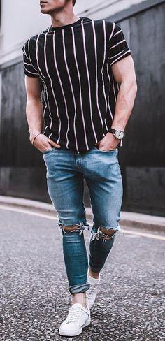e0e902459824d Homens de 30  Camisas e blusas para te inspirar a usar listras!
