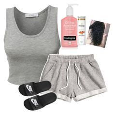 Cute Lazy Outfits, Swag Outfits For Girls, Cute Swag Outfits, Chill Outfits, Teen Fashion Outfits, Spring Outfits, Cute Sleepwear, Pajama Outfits, Polyvore Outfits