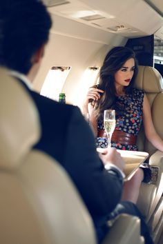 'The rich lifestyle, what a joke!' She thought, mentally remarking upon the charade of it all.