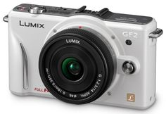 Panasonic Lumix GF2 (white) with 14mm f/2.5 and 20mm f/1.7 lenses